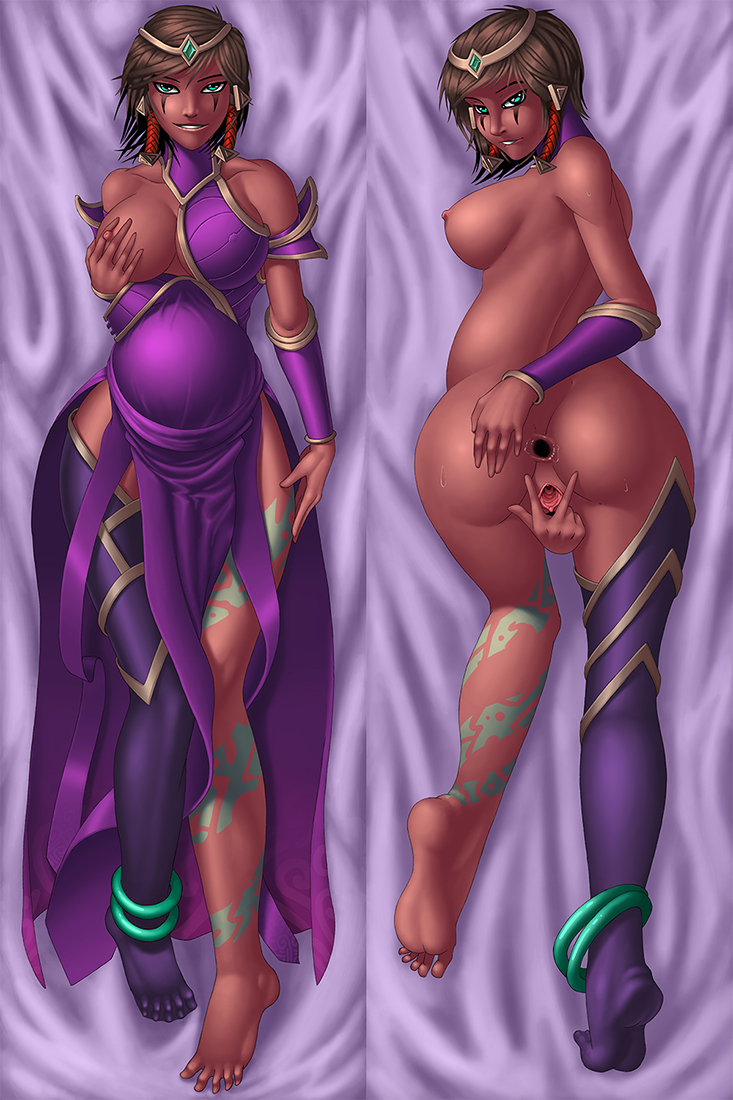 league legends art splash of nude Total recall 3 breasted woman nude