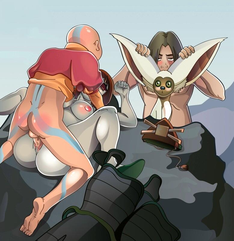 porn airbender toph avatar last the The walking dead game porn comic