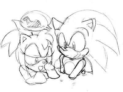 sonic rose plus mania amy How to draw like shadman