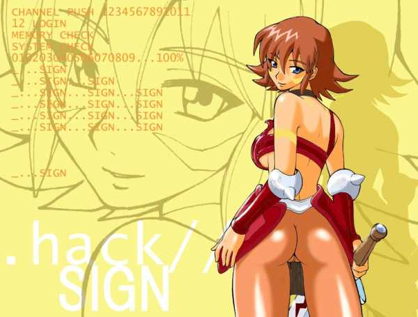 sora .hack//sign You are a loose cannon sandvich