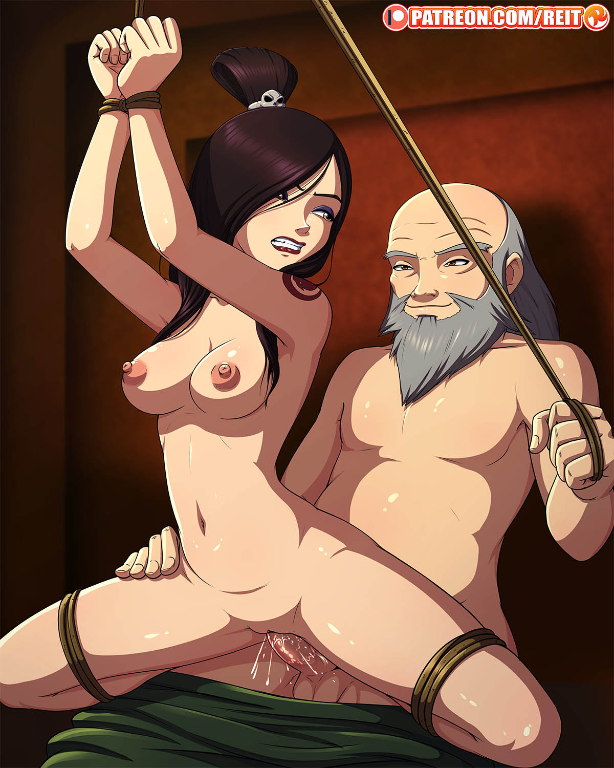the avatar man last sparky boom airbender sparky Sexy naked my little pony