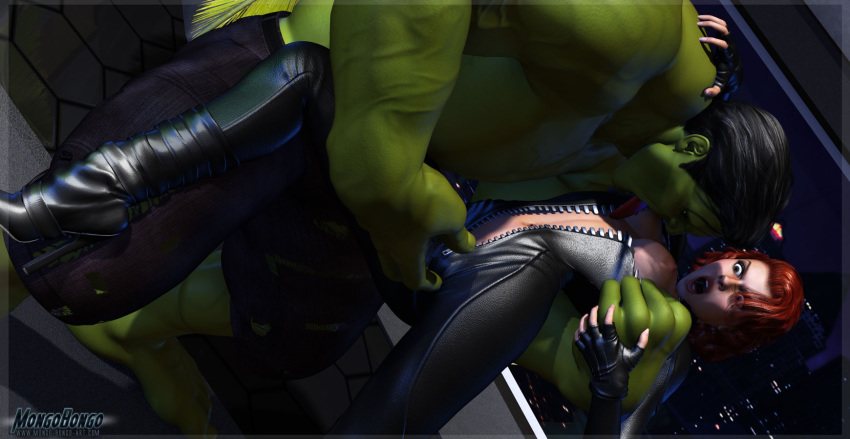 hulk fucked black widow by Deathwing human form in game