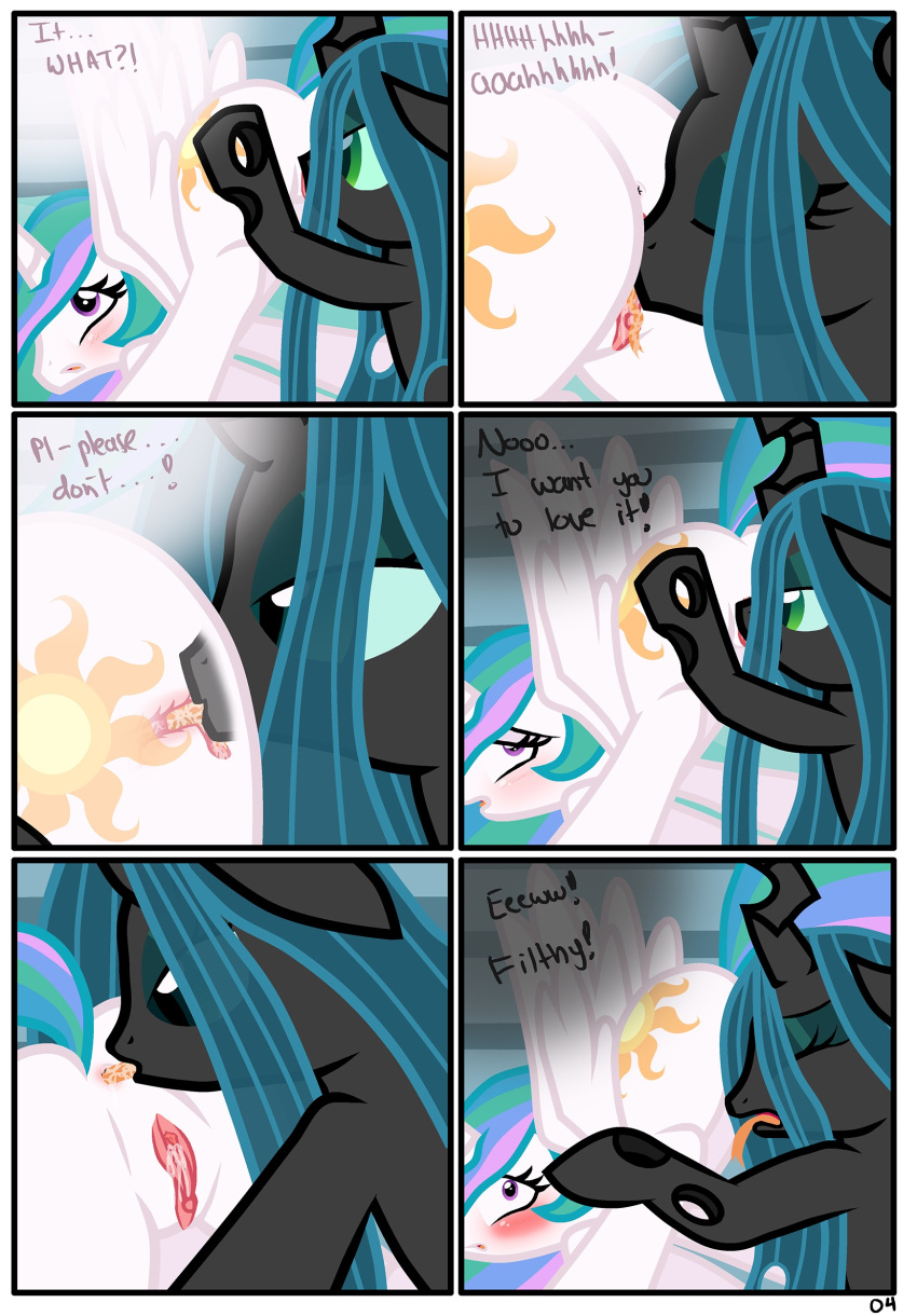 chrysalis queen pony little my Land of the lustrous padparadscha