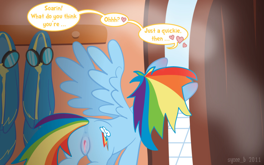 pony my little soarin and dash rainbow Beast boy and raven naked