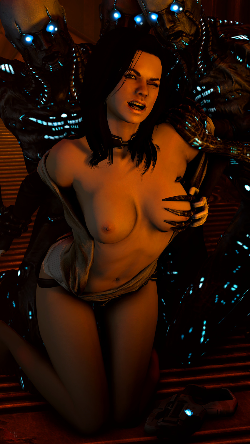 3 mass effect shower traynor Avatar the last airbender nude